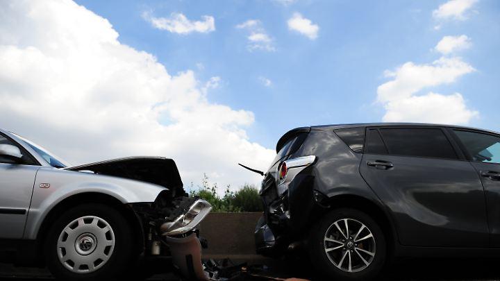Leichte Unfälle zählen zum Alltag auf deutschen Straßen.