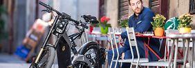 Wer das Bultaco Albero bewegt, der muss für das gute Gefühl treten.