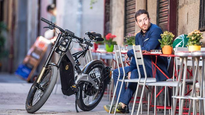 Wer das Bultaco Albero bewegt, muss für das gute Gefühl treten.