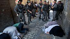 Judentum, Christentum, Islam: Jerusalem - Zentrum dreier Weltreligionen und Konfliktherd