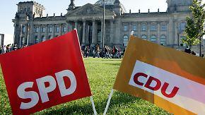 Glaubwürdigkeit vs. Verantwortung: Was aus SPD-Sicht für und gegen eine Große Koalition spricht