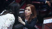Cristina Fernández de Kirchner war acht Jahre lang argentinische Präsidentin.