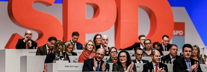 Auf in die nächste Große Koalition?: SPD droht beim Parteitag die Zerreißprobe