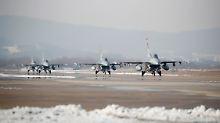 Eskalation durch Militärmanöver?: Nordkorea wertet Übung als Kriegserklärung