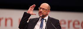Vertrag bis 2025: Schulz fordert Vereinigte Staaten von Europa