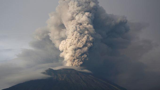 Der Agung brach zuletzt 1963/64 aus - mit verheerenden Folgen.