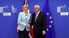 Garantie in Irland-Frage: Erste Brexit-Einigung steht