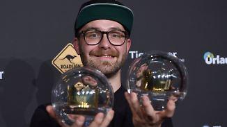 Beste Single, bester Künstler: Mark Forster bekommt doppelte Krone