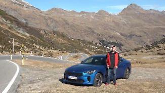 Von Barcelona nach München, Teil 2: Im Kia Stinger über idyllische Bergpässe