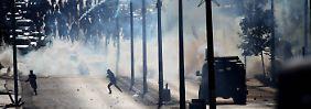 Auch in Betlehem kam es zu gewaltsamen Auseinandersetzungen zwischen Palästinensern und israelischer Armee.