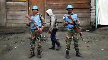 Blauhelm-Soldaten müssen in der Demokratischen Republik Kongo (hier in Goma) um ihr Leben fürchten.