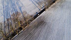 Schnee und Schneeregen: Im Norden bleibt es gefährlich glatt