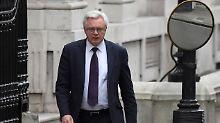 Einigung doch nicht bindend?: Brexit-Minister stellt Bedingungen