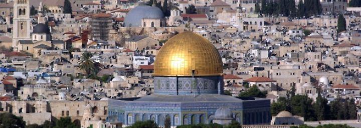 """""""Welcome to Jerusalem"""": Diese Ausstellung wird Trump nie besuchen"""