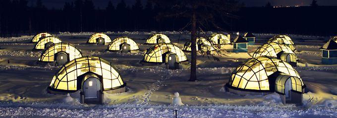 """Besonders cooles Hotel: Finnland hat ein einzigartiges """"Iglu-Dorf"""""""