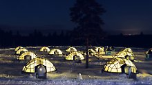 """Besonders cooles Hotel: In Finnland steht ein """"Iglu-Dorf"""" aus Glas"""