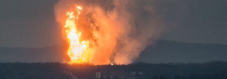Die Ursache für die Explosion im Gaswerk in Baumgarten ist ein technischer Defekt.