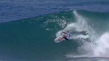 Der Sport-Tag: Surflegende Slater zeigt seine Extraklasse auf Hawaii