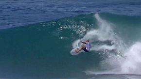 Rückkehr nach Verletzung: Surflegende Slater zeigt seine Extraklasse auf Hawaii