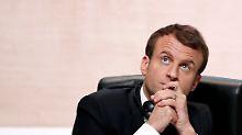 """Klimagipfel in Paris: Macron: """"Wir sind dabei zu verlieren"""""""