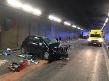 Frontalcrash mit deutschem Auto: Zwei Tote bei Unfall in Gotthard-Tunnel