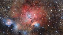 Glitzerbild aus dem All: Hier werden Sterne geboren