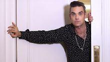 """Sorge um Robbie Williams: """"Mein Arm war taub und ich sabberte"""""""