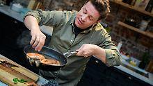 """Der Tag: Jamie Oliver """"serviert"""" zum Brexit """"Teller voller Glasscherben"""""""