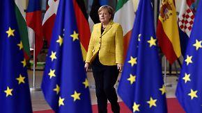 Visegrád-Gruppe will sich freikaufen: Merkel beharrt auf EU-Flüchtlingsquote