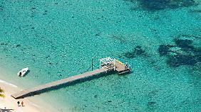 Glasklares Wasser, schöne Strände: Mauritius ist sehr reizvoll, aber kein Billigreiseziel.