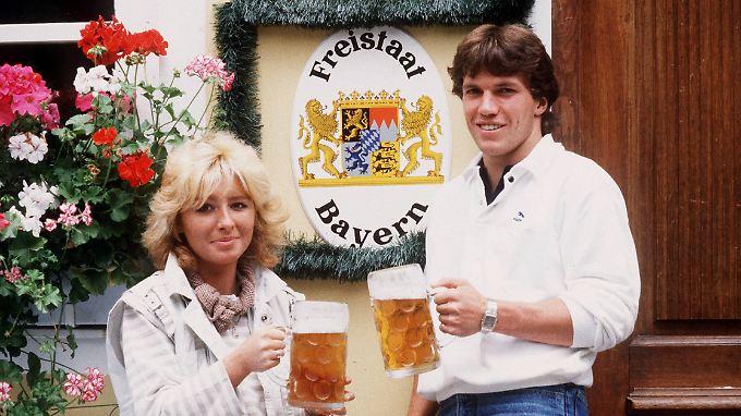 Auf dem Weg in den Freistaat: Lothar Matthäus wechselte vor der Saison zu den Bayern.
