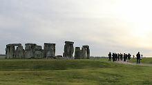 Tempel und Touristenattraktion: Zur Sonnenwende wird es voll in Stonehenge
