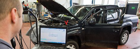 Umrüstung verweigert: Behörden legen erste VW-Diesel still