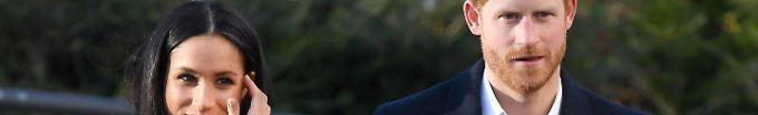 Der Tag: 14:46 Prinz Harry und Meghan Markle: Hochzeitstermin steht fest