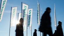 Konzern liefert Cloud-Software: Siemens zieht Deal mit Amazon an Land