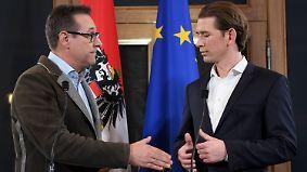 Österreich rückt nach rechts: Kurz und Strache schließen Regierungsbündnis