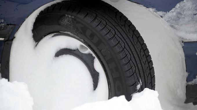 Hohe Strafen: Winterreifen werden Pflicht
