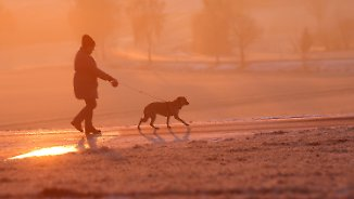 Sonniger dritter Advent an den Küsten: Schneegestöber zieht nach Süden weiter