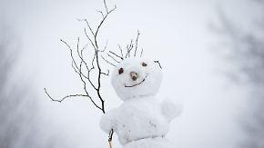 Nasskalter Wochenstart: Chance auf weiße Weihnachten steigt