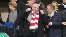 Bayern-Präsident Uli Hoeneß kann und will beim aktuellen Transfer-Wahnsinn nicht mitmischen.
