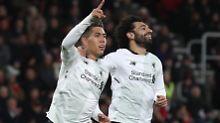 Liverpool siegt souverän: Klopps Offensive dribbelt Bournemouth K.o.