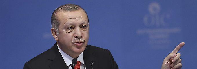 "Erdogan: ""So Gott will"": Türkei will Botschaft in Ost-Jerusalem"