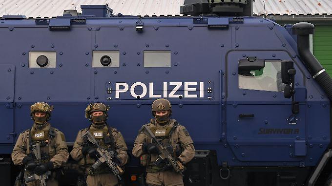 83 Prozent der Deutschen vertrauen der Polizei.
