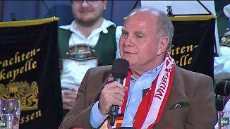 """""""Scheißfragen"""" und """"Arschaufreißen"""": Uli Hoeneß leitet wieder die Attacke-Abteilung"""