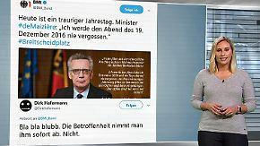 n-tv Netzreporterin: Politisches Gedenken an Amri-Anschlag erzürnt Internetnutzer
