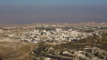 Besetztes Westjordanland: Israel will Siedlungen massiv ausbauen