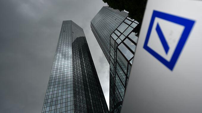 Die Zentrale der Deutschen Bank in Frankfurt am Main.