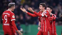 Pokalhit nur auf dem Papier: Bayern bezwingen Dortmund knapp