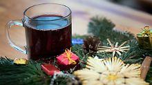 Der Tag: Wie tief schauen Sie an Weihnachten ins Glas?