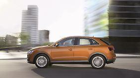 Seine 4,38 Meter Länge machen den Audi Q3 zu einem soliden Kompakt-SUV.